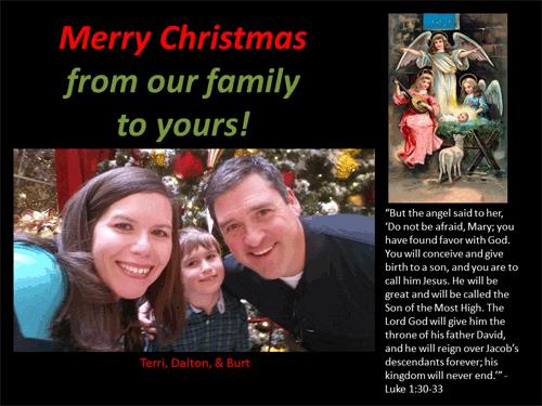 Christmas e-card 2013 - Terri Red