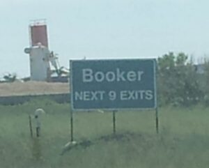 Booker - next 9 exits BIGGER